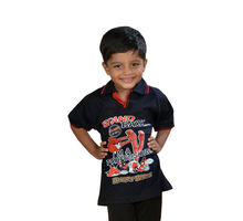 Black T-shirt for Boys, 75,  black