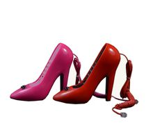 High Heel Telephone Handset,  red