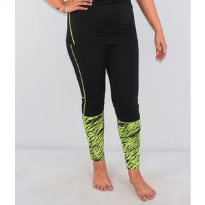 Full Tight Trousers, xxxl, 90  polyester and 10  spandex,  green