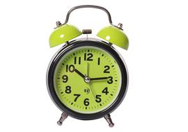 Rise N Shine Analog Green Clock
