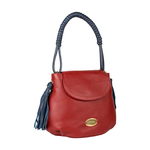 Nappa 02 Women s Handbag, Cow Deer Mel Ranch,  red