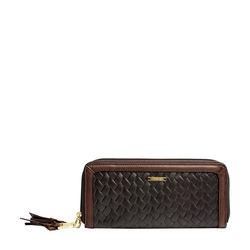 Tanzanite W3 Women's Wallet, soho,  brown