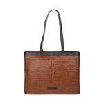 Tokyo 02 Sb Women s Handbag, Croco Melbourne Ranch,  tan