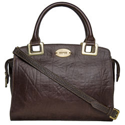 Claudia 02 Women's Handbag, Elephant Cement Pebble,  brown