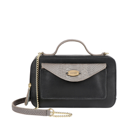 LILAC 02 SB WOMENS HANDBAG MELBOURNE RANCH,  black
