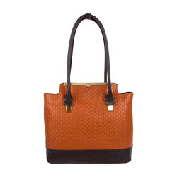 Shinjuku 01 Women's Handbag, Woven Ranch Melbourne Ranch,  tan
