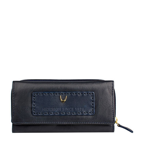 Adhara W3 (Rfid) Women s Wallet, Roma Ranch,  midnightblue