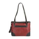 Ara 03 Women s Handbag, Woven Melbourne Ranch,  red