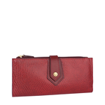Hong Kong W1 Sb (Rfid) Women s Wallet, Lizard Melbourne Ranch,  marsala