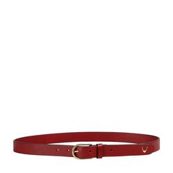 Ee Monica Women's Belt Glazed, 32 34,  marsala