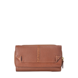 Stitch W3 (Rfid) Women's Wallet, Roma Melbourne,  tan
