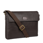 Ee Pluto 01 Messenger Bag, Regular,  brown