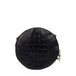 Hidesign X Kalki Infinite 03 Women s Handbag Baby Croco,  black
