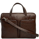 Slider 01 Briefcase, regular,  brown