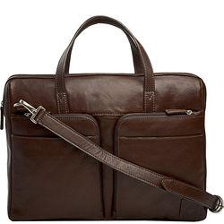 Slider 01 Briefcase, khyber,  brown