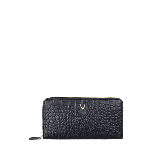 Atlanta Women s Wallet, Croco,  black