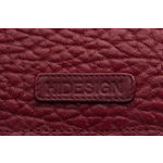 Sb Olivia W1 Women s Wallet, Cement Pebble Snake Lamb,  red