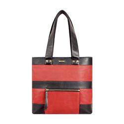 HIDESIGN X KALKI SURFER 01 WOMEN'S SHOULDER BAG WAXED SPLIT,  red