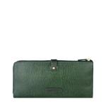 Hong Kong W3 Sb Women s wallet, Lizard Melbourne Ranch,  emerald green