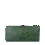 Hong Kong W3 Sb (Rfid) Women s Wallet, Lizard,  emerald green