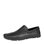 Malbec Men s Shoes, Genuine Deer Goat Suede, 7,  black