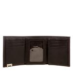 280-Tf Men s wallet,  brown, escada