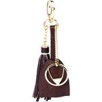 Collette (Kc) keychain,  brown