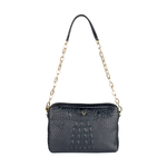 Perry 01 Women s Handbag, Baby Croco Melbourne Ranch,  black