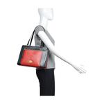 Libra 02 Sb Women s Handbag Snake,  black