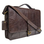 Maverick 01 Briefcase,  brown, regular