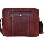 Alfred 03 Laptop bag,  brown, siberia
