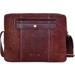 Alfred 03 Laptop bag, siberia,  brown