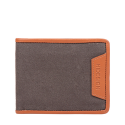 360-017 RF MENS WALLET CANVAS,  grey