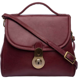 Marina Handbag,  red, soweto
