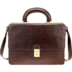 Elton Briefcase,  brown