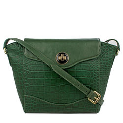 Sb Gisele 02 Crossbody, croco,  emerald