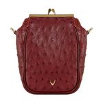 Argonne Women s Handbag Ostrich,  brown