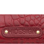 Nakasu W2(Rfid) Women s Wallet, Croco Melbourne,  red