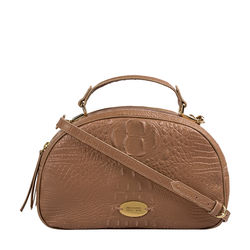 Infinite 01 Women's Handbag Baby Croco,  nude