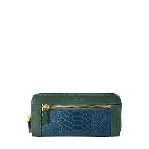 Libra W2 Sb (Rf) Women s Wallet, Melbourne Ranch Snake,  emerald