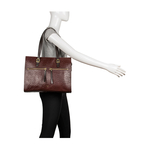 Neptune 03 Sb Women s Handbag Ostrich,  brown