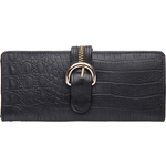 Harajuku W1 Women s Wallet, Baby Croco Ranch,  black, baby croco