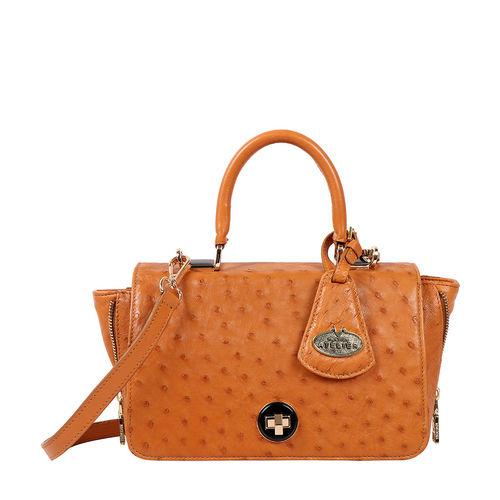 Azur Women s Handbag Ostrich,  tan