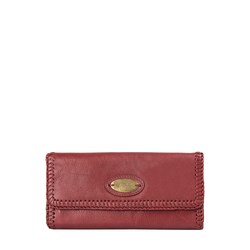 Amber W2 (Rfid) Women's Wallet, Roma,  red