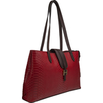 Sb Silvia 02 Women s Handbag, Snake Ranchero,  red
