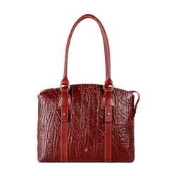 HIDESIGN X KALKI SAMURAI 01 WOMEN'S SHOULDER BAG ELEPHANT,  marsala