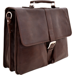 Aberdeen Briefcase,  brown