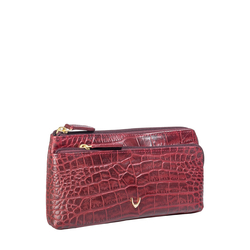 Sb Paola W1 Women's Wallet, Croco,  red