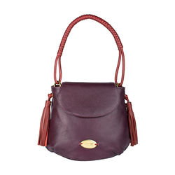 Nappa 01 Handbag,  purple