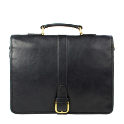 Bolton Briefcase, regular,  black